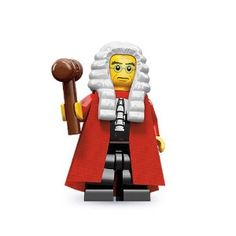 Amazon.com: Lego 71000 Series 9 Minifigure Judge: Everything Else