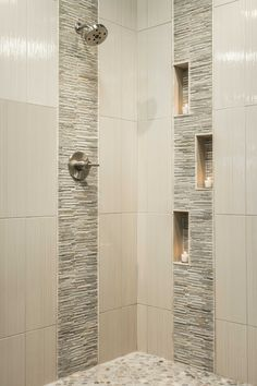 Best Of Modern Shower Tile Design . Bathroom Shower Designs Hgtv with Image Modern Bathroom Bathroom Tile Designs, Shower Designs, Bathroom Ideas, Bathroom Showers, Bathroom Remodeling, Bathroom Colors, Budget Bathroom, Bath Shower, Tiled Showers