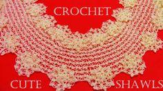 Como tejer chalinas lindas fáciles y rápidas - Make Knitting cute shawls...