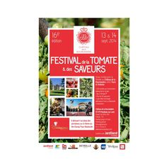 CHATEAU DE LA BOURDAISIERE : Jardiland l'Institut soutient le 16ème Festival de la Tomate & des Saveurs ! Comme chaque deuxième week-end de septembre depuis 16 ans, la tomate fait son festival au Château de la Bourdaisière, qui héberge dans son conservatoire plus de 600 variétés de ce légume-fruit tant apprécié des Français.