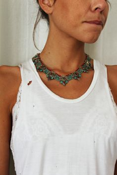 Malindi Tribal Necklace - Arnhem Clothing