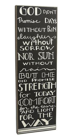 God's Promise Wood Box Sign Primitive Country Rustic Inspirational Decor   eBay