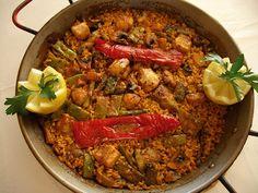 Arroz de magro y verduras en El Campello