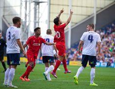 Jordon Ibe inspries Liverpool comeback at Preston #LFC #PNE