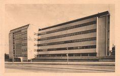 Gymnázium dr. Edvarda Beneše (Gymnasium of Dr. Edvard Benes) (Arch.: Evžen Linhart)