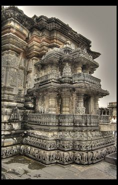 Chennakesava Temple Belur, Karnataka, India, via Flickr