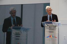 #MassimoBray, Ministro dei Beni Culturali e del Turismo, at #BigTentRoma. Concept and secretariat: #TriumphGroupInt.
