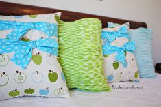 Gathered Pillow variation | Make It and Love It