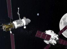 NASA Deep Space Gateway Station Orbitale, Space Station, Nasa Goddard, Portal, Hiroshima, Nasa Moon, Back To The Moon, Mission To Mars, Space Projects