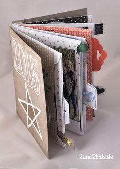 Eine Stampin´Up Minialbum mit dem Projektset Grße Klasse - Stampin´Up! von 2und2kids