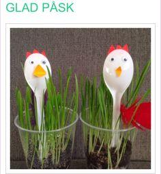 Påskgräs Diy And Crafts, Crafts For Kids, Preschool Projects, Easter Crafts, Spring, Party, Infant Crafts, Easter, Kid