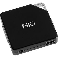 Fiio E6 Stereo Headphone Amplifier - The best way to make your tunes sound amazing on-the-go is with: A.) A superb pair of headphones and B.) a device like this, a portable amplifier. This model is small and light, making it perfect for upping the volume and audio quality of your earbuds when you're traveling on an airplane, or to drown out whatever's blasting over the speakers when you're at the gym.