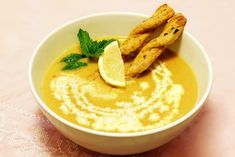 Ciorba de Lentil Mint 0 Hummus, Ethnic Recipes, Food, Homemade Hummus, Meal, Essen, Hoods, Meals, Eten