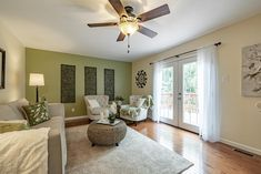 This gorgeous family room is in the perfect home for a young family in Chesterfield, Missouri. Home Staging Companies, Young Family, St Louis, Family Room, Home Decor, Decoration Home, Room Decor, Family Rooms
