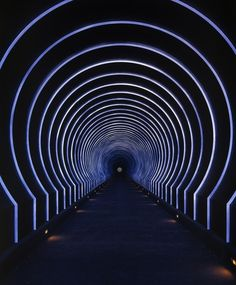 James Turrell Alpha Tunnel from Roden Crater Project, Site-specific installation, Flagstaff, Arizona. View toward Sun and Moon Space © James Turrell. James Turrell, Land Art, Neon Lighting, Lighting Design, Site Art, Lascaux, 3d Foto, Light Tunnel, Instalation Art