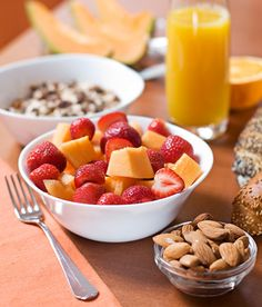 Healthy Back To School Breakfasts: cook once, eat multiple times, make your own granola bars, hard boiled eggs, fruit on cereal, freeze smoothies so they'll be ready for morning