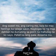 Tagalog Quotes Hugot Funny, Pinoy Quotes, Hugot Quotes, Tagalog Love Quotes, Filipino Memes, Patama Quotes, Hugot Lines, Bts Texts, Kendall