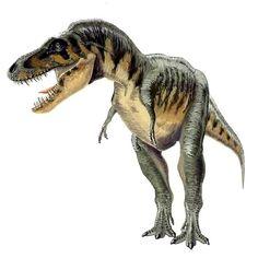 Tarbosaurus efremovi, art by Andrey Atuchin