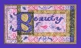 Beauty word art by Kristie Hubler