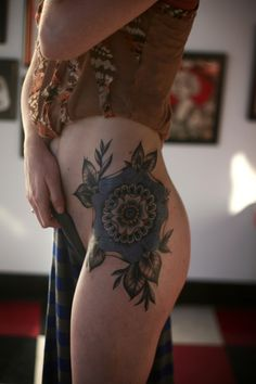 Alice Carrier, tattoo artist