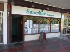 Samphire Brasserie in Plymouth, Devon. Recommended by Cami Callear Fish And Chips, Places To Eat, Plymouth, Devon, Four Square, Vegan Vegetarian, Cami, Outdoor Decor, Home Decor