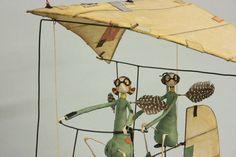 Brain's Fairy Aiding Inventions - Samantha Bryan Toy Art, Junk Art, Little Critter, Mixed Media Artists, Character Development, Fairy Gardens, Just For Fun, Fairies, Creatures