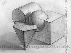 21 Light Shadow Object Pencil Drawing Ideas - New Academic Drawing, Drawing Studies, Art Studies, Geometric Drawing, Geometric Art, 3d Drawings, Pencil Drawings, 3d Drawing Techniques, Composition Art