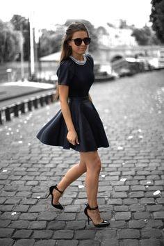Little Black Cocktail Party Dress #Cocktail #Party #Dress