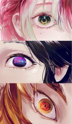 Kimetsu no Yaiba (Demon Slayer) Image - Zerochan Anime Image Board Otaku Anime, Manga Anime, Fanarts Anime, Anime Eyes, Manga Art, Anime Angel, Anime Demon, Demon Slayer, Slayer Anime