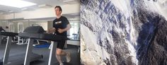 Adam Fletcher  is currently training for his naseba TAG Heuer challenge. He will climb Mont Blanc in August and just completed a 10km run in under 50 minutes as part of his training.