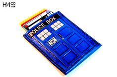 Doctor Who: Tardis Wallet  This is a basic wallet with one pouch for cards and/or money.  This can be a custom item. If you would like a different