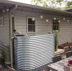 This is one of our rainwater system installations in Austin.  Re-nest.com asked us to supply a few pictures for their blog post on rainwater harvesting.