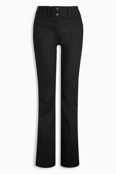 Buy Black Lift, Slim And Shape Boot Cut Jeans from the Next UK online shop