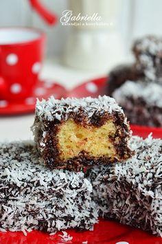 A tökéletes kókuszkocka Erika, Desserts, Foods, Essen, Tailgate Desserts, Food Food, Deserts, Food Items, Dessert