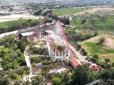 Tips and Tricks for visiting Six Flags Magic Mountain...when is best to go, what is best to ride on front of, what to expect. www.optimizingadventure.com