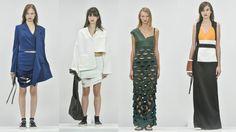 Recortes estratégicos fazem parte da coleção verão 2017 da estilista Glória Coelho. Confira looks na www.flashesefatos.com.br