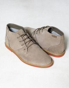 Pull & Bear CONTRASTING HIDE ANKLE BOOTS - MEN'S FOOTWEAR