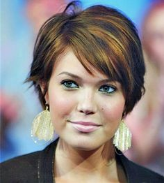 Short Haircuts For Fine Hair And Oval Face