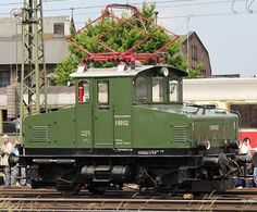Electric Locomotive, Engineering, Display Stands, Iron, Paths, Germany, Technology