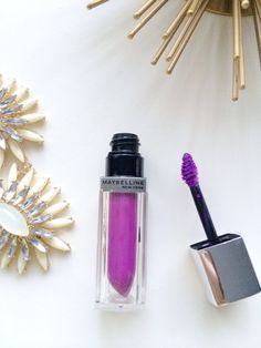 Purple lips for fall 2014, the perfect fall make up, maybelline vision in violet  {what's trending}