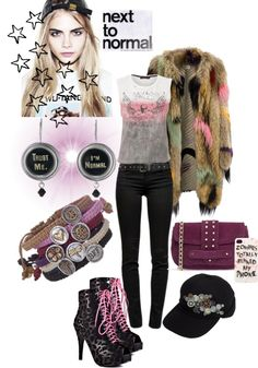 """""""Why Be Normal?"""" by stacy-morgan ❤ liked on Polyvore"""