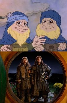 The Hobbit: 1977 and 2012 Films - Imgur