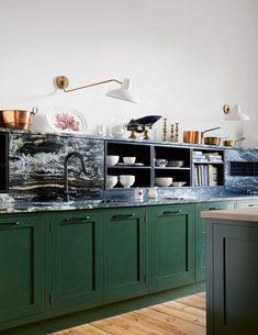 Kitchen designed to remain hidden