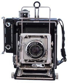 1947 Graflex Pacemaker Crown Land #vintage #camera