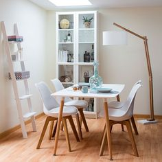 Modern Dining Room Inspiration Woods Solid wood dining room furniture is the best you can get due to its strength, rigidity and hard-wearing properties. Dining Room Furniture, Home Furniture, Dining Rooms, Sweet Home, Apartment Makeover, Dining Room Inspiration, Room Decor, House Design, Interior Design