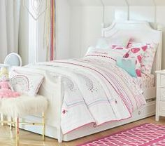 Girl Quilts & Comforters   Pottery Barn Kids