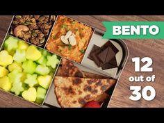 Bento Box Healthy Lunch 12/30 (Vegan) - Mind Over Munch - YouTube