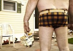 No fashion for fat men