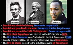 martin luther king republican vs democrats slavery