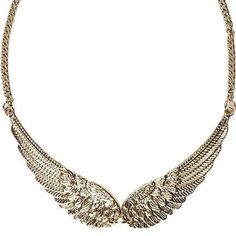 Update your outfits with our women's jewellery collection. From statement necklaces to earrings, stackable rings and chokers, find all our jewelry here. Angel Wing Necklace, Collar Necklace, Beautiful Necklaces, Jewelry Collection, Jewelery, Fashion Accessories, Women Jewelry, Pendants, Earrings